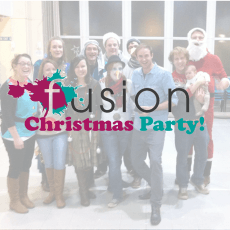 Fusion Christmas Party Flyer